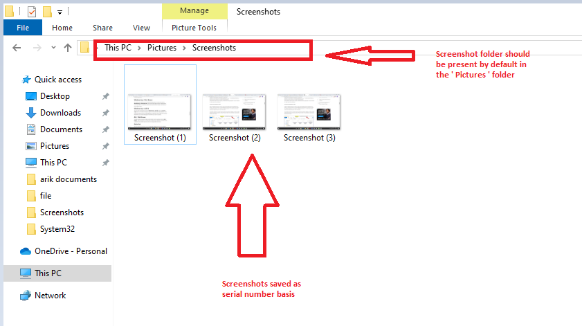 How To Print Screen In Windows 10 Easily [ Screenshot In Windows PC ]