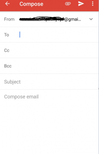 how to send email in iphone