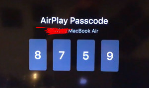 Airplay in Macbook