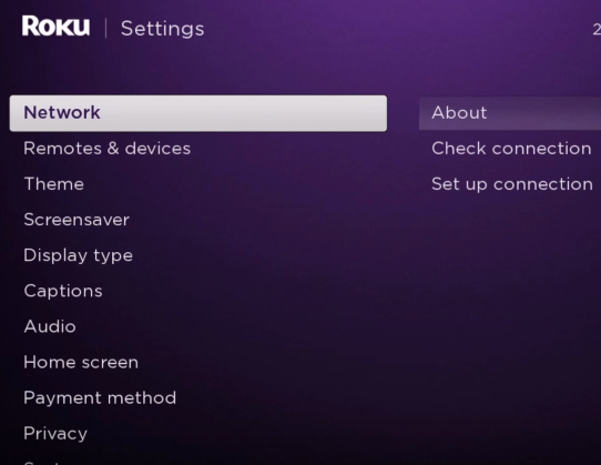 Roku Screen Mirroring with Android