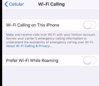Solve AT&T Wifi Calling Not Working in iPhone