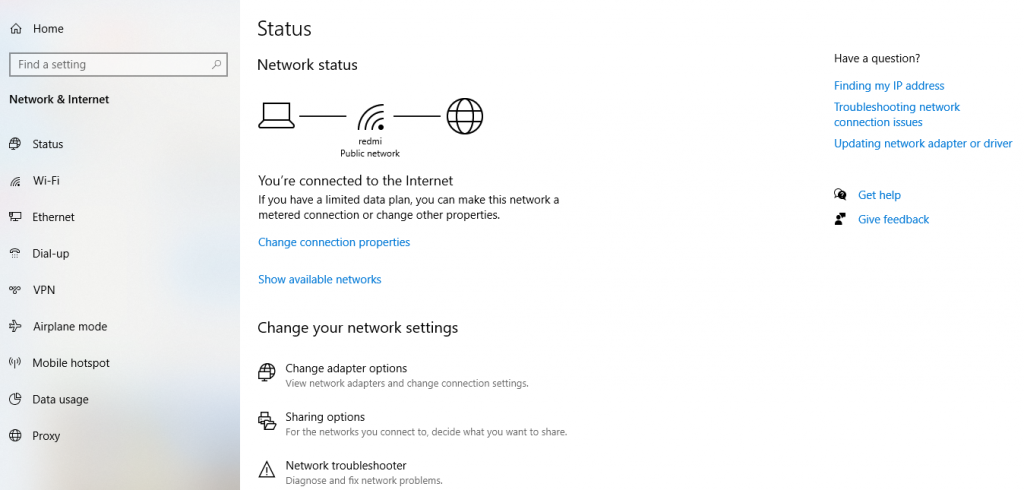 Mobile Hotspot Not Working In Windows 10