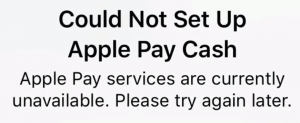 Apple Pay Not Working
